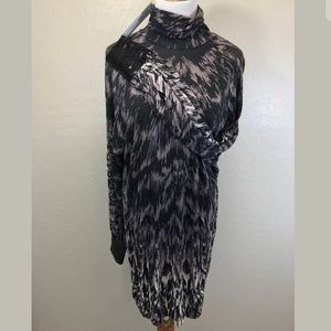 $188 NWT SEQUIN CUFF DRESS FRENCH CONNECTION SZ 6